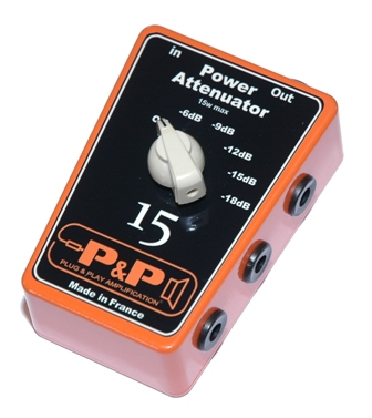 Power Attenuator 15 P Amp P Amplification L Att 233 Nuateur De